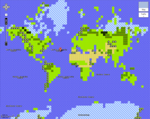 Google Maps Quest – 8-bit Mapping Goodness